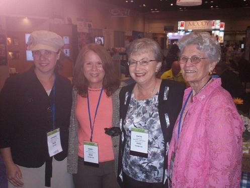 Bloomfield authors Jenness Walker, Kathi Macias, and Martha Rogers