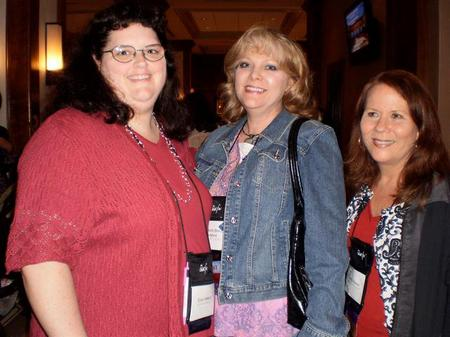 Erica Vetsch, Beth Goddard, and me